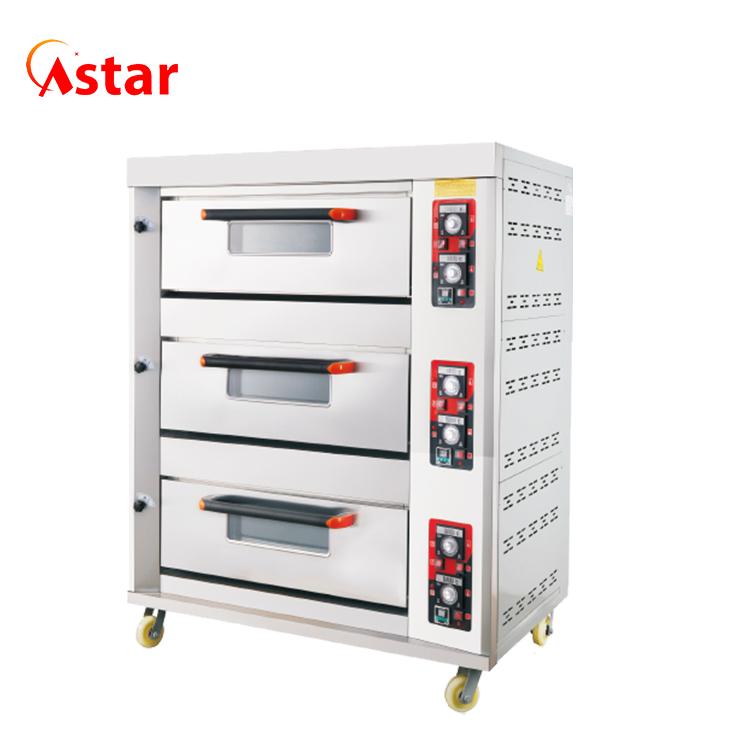 Astar оборудование для выпечки, хлебобулочные изделия, 3 колоды, 6 лотков, духовка для хлеба для хлебопекарни
