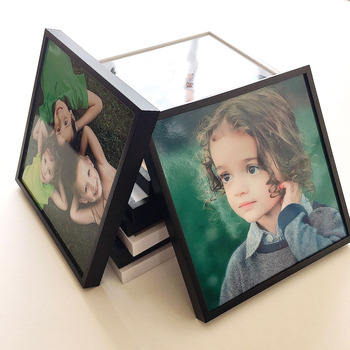 Wholesale Best Quality Modern European Style Gift 8X8 Family Photo Frame Happiness Picture Frame With Best Rate