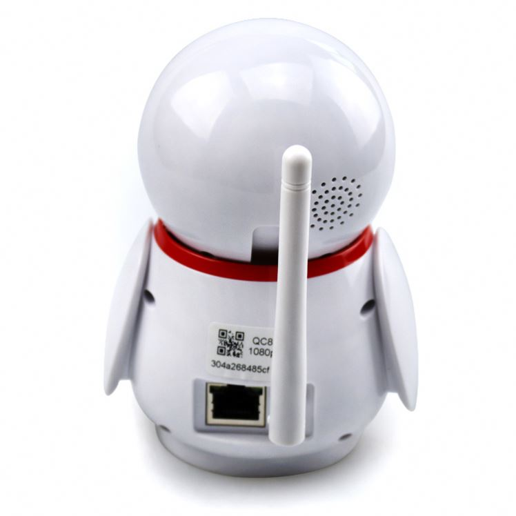 Very cute animal robot smart wifi ip camera security baby monitor