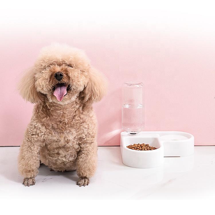 자동 회람 개인화된 개미 증거 애완 동물 그릇 유출 개 고양이 물 지류 큰 개를 위한 자동적인 개 물 분배기 없음