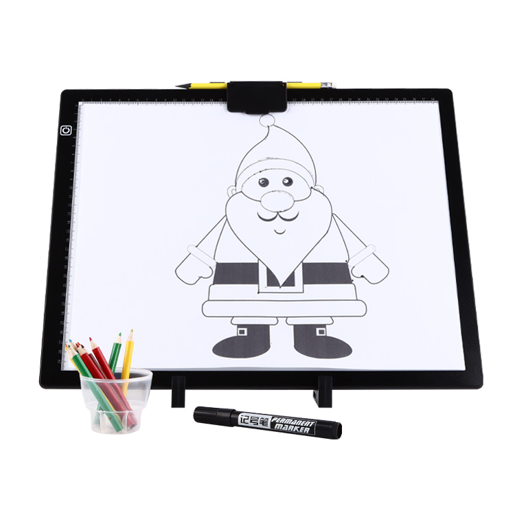 2021 NEW DESIGN LED LIGHT PAD Rulers have Brightness Figures With Typec C interface - Yola WhiteBoard | szyola.net