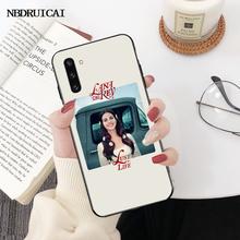 NBDRUICAI Эстетическая Лана Дель Рей красивая девушка черный ТПУ мягкий резиновый чехол для телефона Samsung Note 3 4 5 7 8 9 10 pro M10 20 30(Китай)