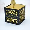 metallic gold inner box, black pearl sleeve