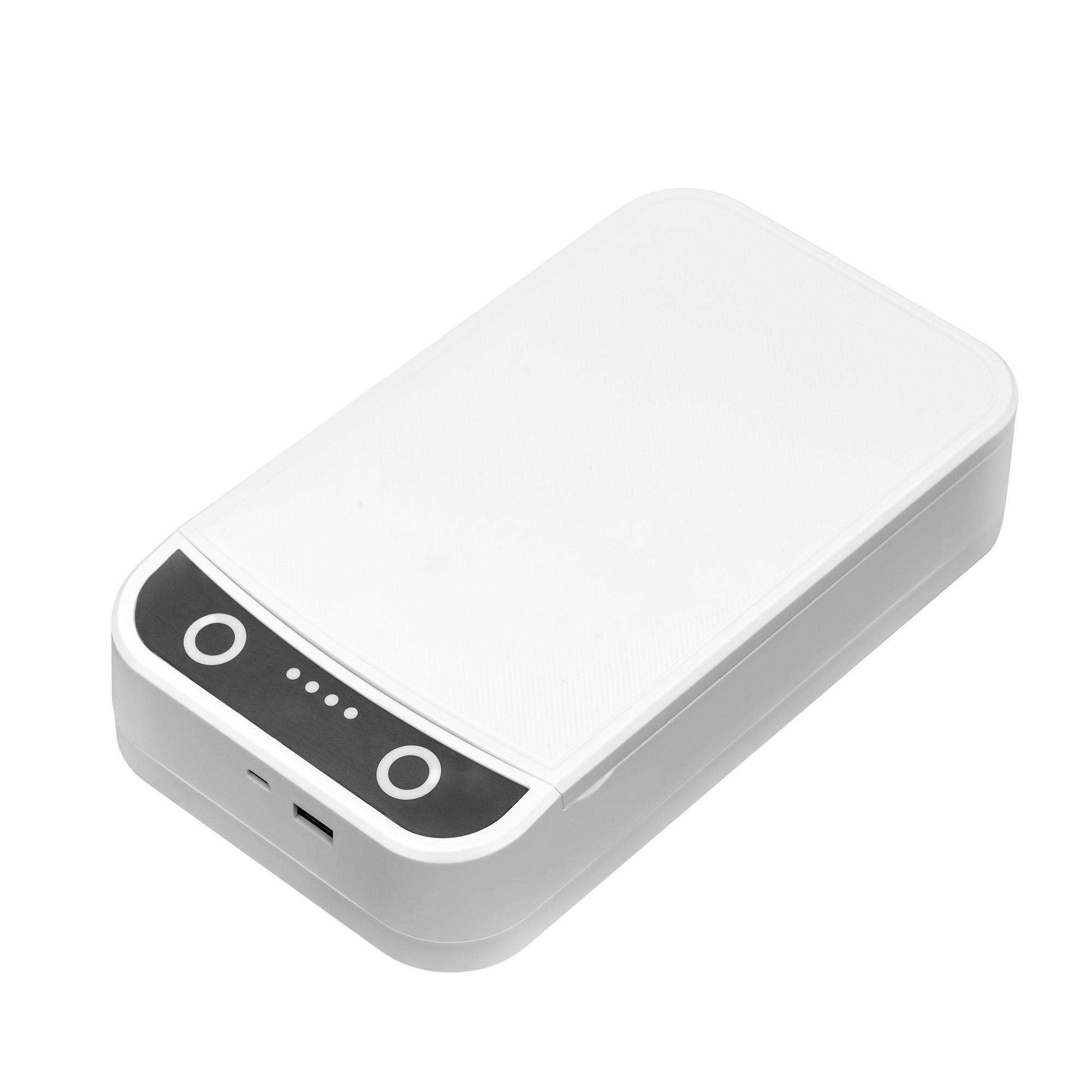 Hot Sales Portable Smartphone Sanitizer UV Light, UV Led Cell Phone Foldable Sanitizer UV Lamp Sterilizer Box