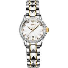 Модные женские часы Лидирующий бренд Luxruy OLEVS автоматические часы женские водонепроницаемые спортивные часы женские кожаные деловые наручн...(Китай)