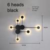 6 heads black