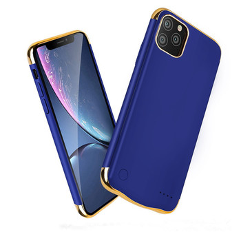 For iPhone 11 Charging Phone Case, Shockproof Slim Power Bank Case for iPhone 11