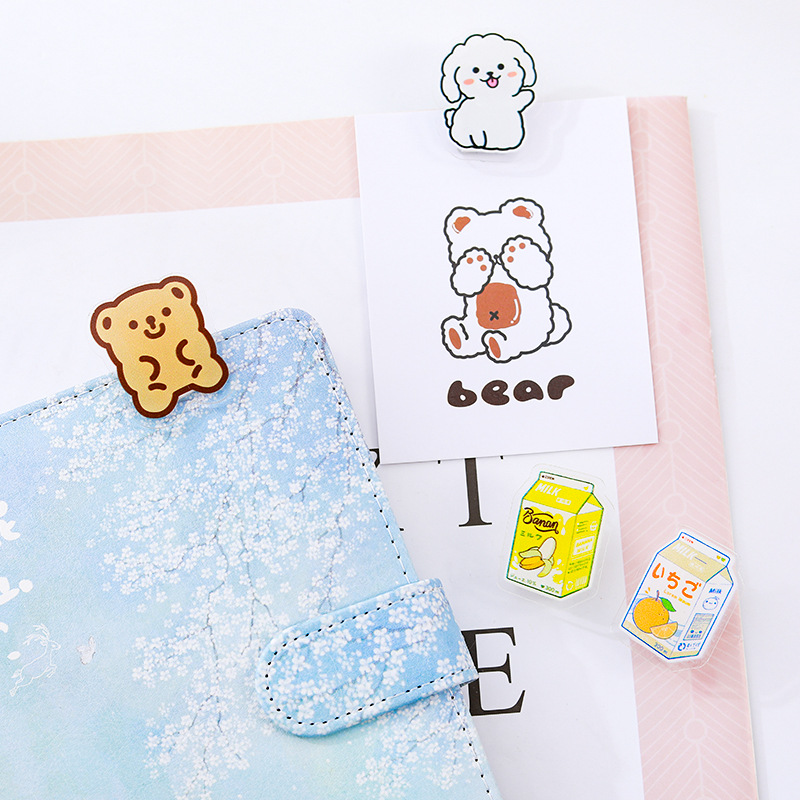 2020 Acrylic Clamp Custom Promotional Stationery Clipboard Clip custom paper clip