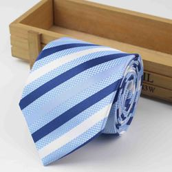 Галстук формальный стандартного размера 3,15 дюйма Галстук для жениха джентльмена Мужской дизайнерский галстук из полиэстера для вечеринки тонкая стрела 8 см шелковый галстук