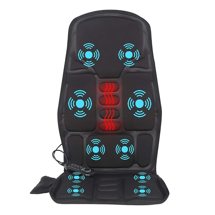 Vibration & Heating Therapy Massage Cushion to Relieve Stress, Electric Car Seat Massager