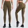 NAVY green leggings