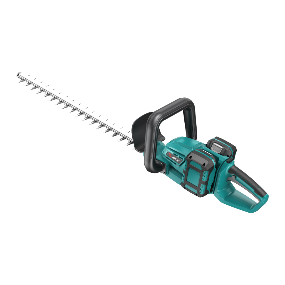 Electric Garden Power Tools Set With Hedge Grass Trimmer And Chain Saw