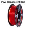 PLA Transparent red/ Neutral Box