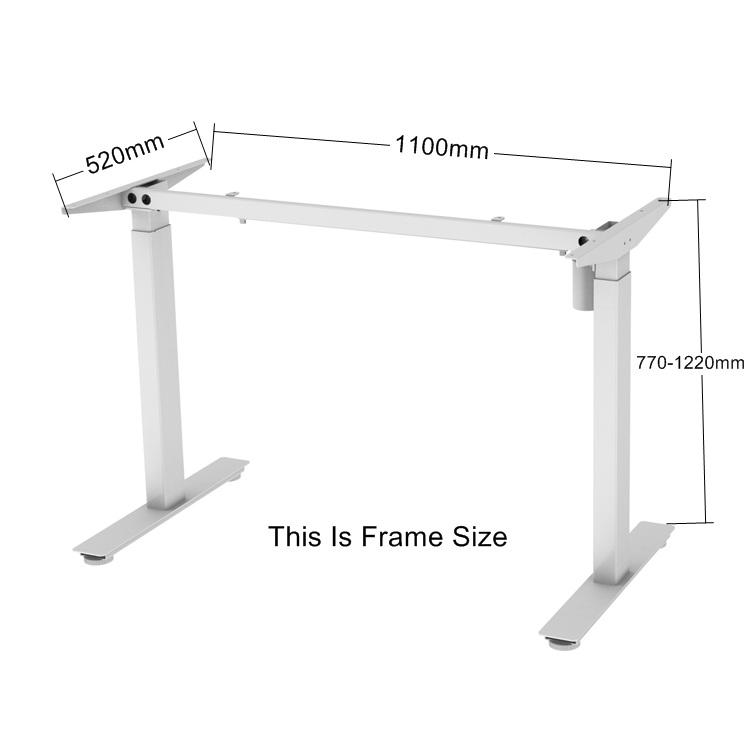 2 ножки, 2 колонны, электрическая регулируемая высота, офисный подъем, компьютерный стол, столы, рама, китайский поставщик