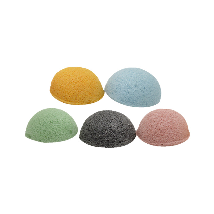 100 of natural bamboo charcoal japan konjac bath soap sponge