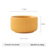 4.5inch yellow rice bowl