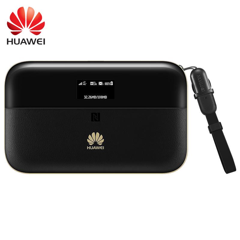 Huawei E5885 CAT6 300Mbps 4G Wifi Router Daya Bank 6400MAh E5885Ls-93a Hotspot