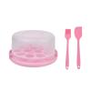 Cake Case + Silicone Spatula Brush - Pink