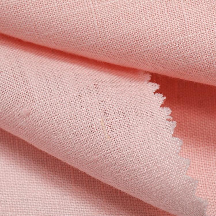 Льняной костюм тканая ткань gingham Марля льняная ткань льняная трикотажная ткань Джерси