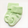 green Baby Socks