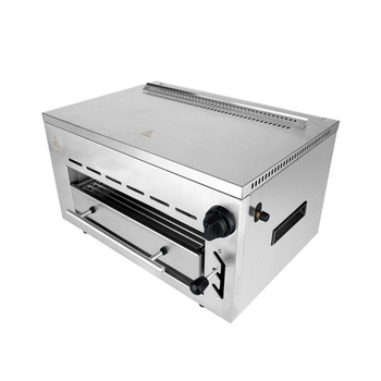 Multilayer adjustable height electric high speed gas baking oven