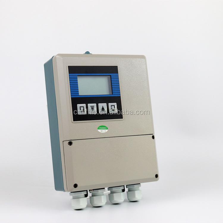 Large Diameter DN300-DN1600 Plug-in Inserted Type LCD Display IP65 Stainless Steel Split Electromagnetic Flow Meter