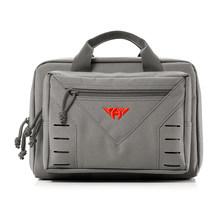 Yakeda двойной чехол для тактического пистолета, сумка для тактического пистолета, дополнительная сумка для хранения журналов, сумка для пист...(Китай)