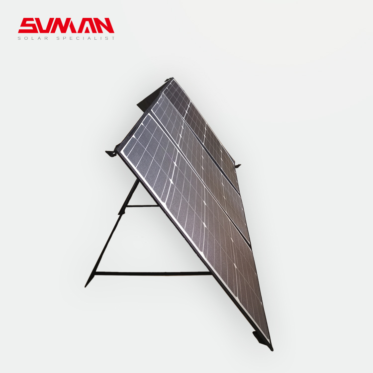 Portable Solar Charger for RV, Camping, Hiking and Motor Home Best Quality 160W Foldable MINI VDE 12/24V Charge Controller 175W
