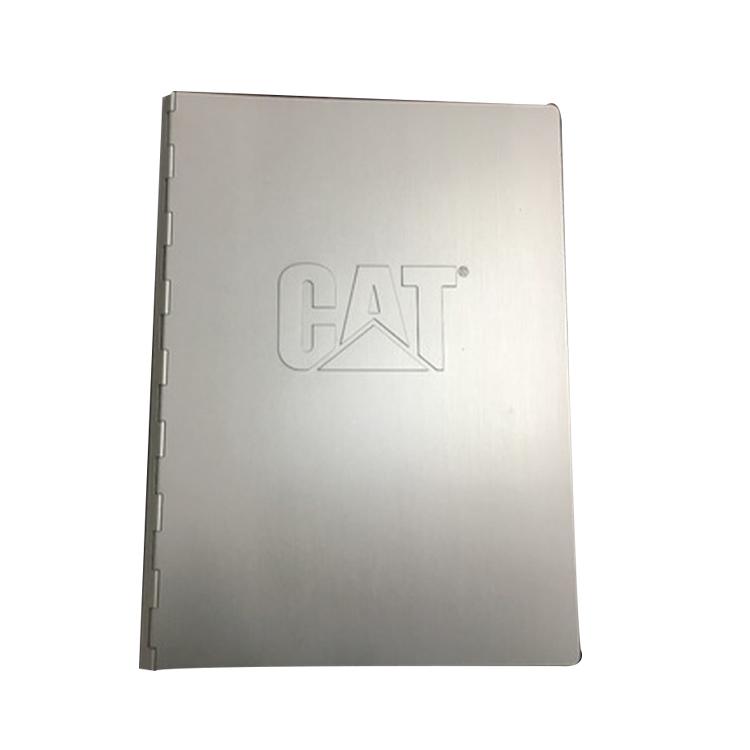 Высококачественная металлическая Обложка, расширяемая папка для документов