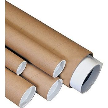 Wholesale Cardboard Shipping Poster painting wood wandsTube Kraft Mailing Tube Long