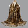 fashion leopard print scarf-2