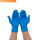 Disposable Disposable Gloves CHEMO 510k Serial 9inch Disposable Medical Chemotherapy Thick Blue Nitrile Pvc Blend Powder Free Examination Gloves For USA
