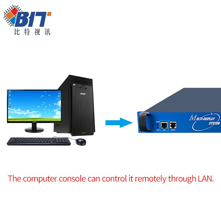 1080P 2k 4k 5k Compliant HDMI 3x3 4x4 video wall controller