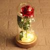 Red Rose, light brown
