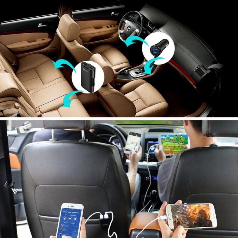 Amazon Best Seller 3 In 1 Car Wireless Charger Holder 10W Wireless Charging Car Fast Qi Wireless Car Charger