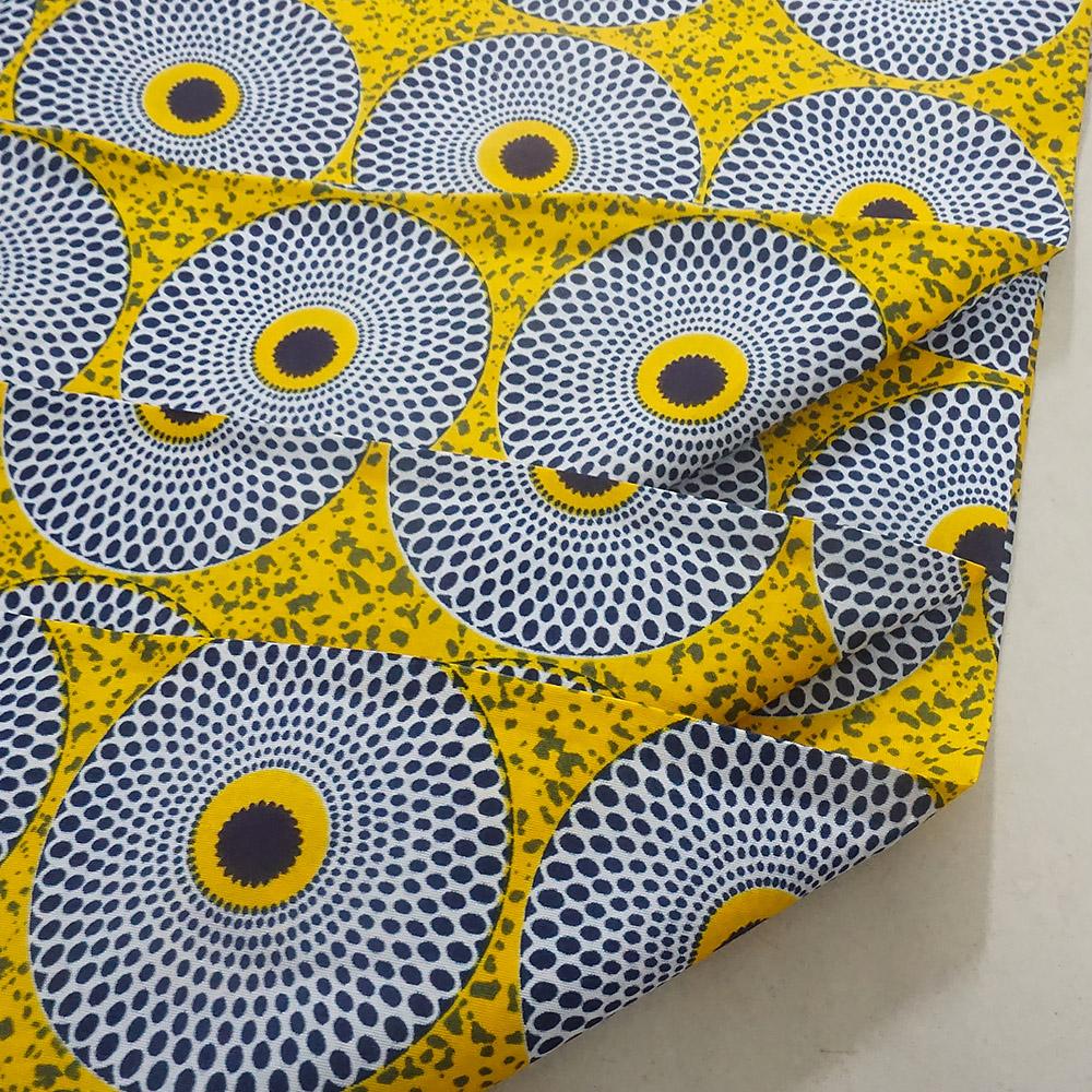 2020 Block wax Ankara African veritable Wax print fabric Ghana Ankara wax fabric 100% polyester PV27