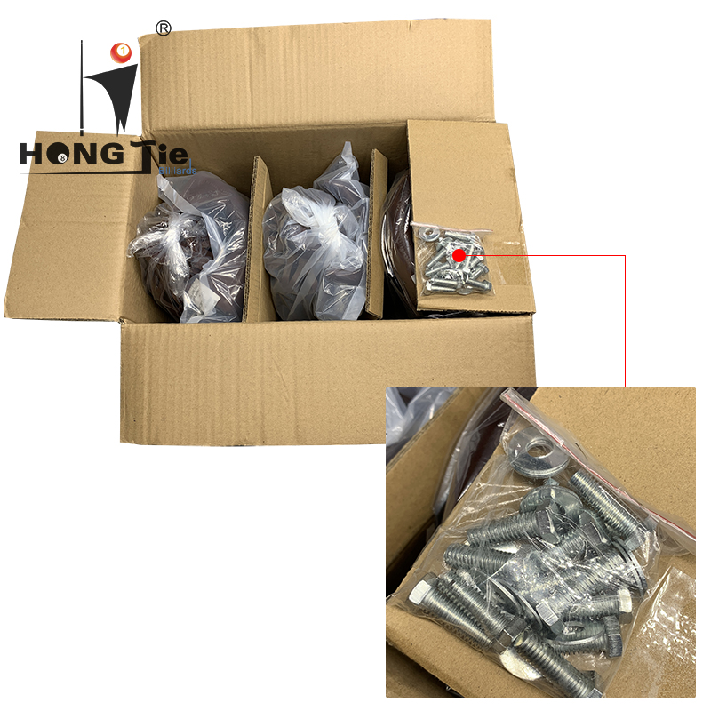 Hongjie Billiards Accessories Billiards Table Leather Pocket For Sale