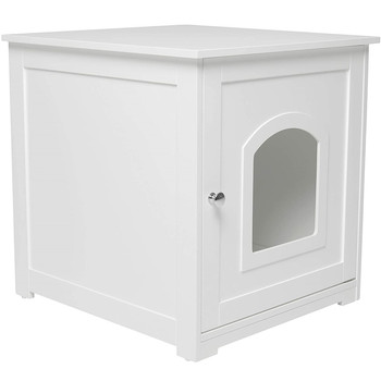 Wholesale Modern Wooden Hidden Litter Box Furniture