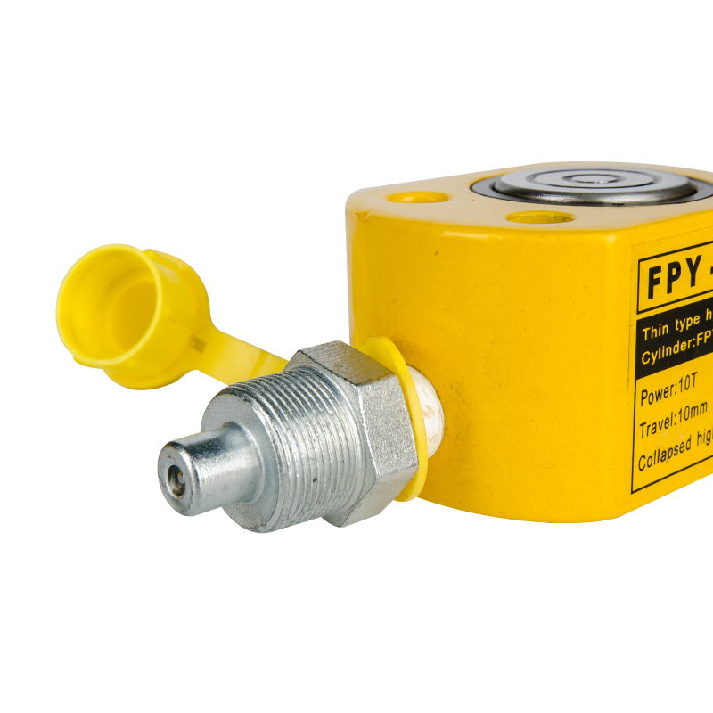 Lifting Single Acting Low Height Ultra-thin Jack FPY-101 10Ton Hydraulic Cylinder Jack 5-50T Other hydraulic tools