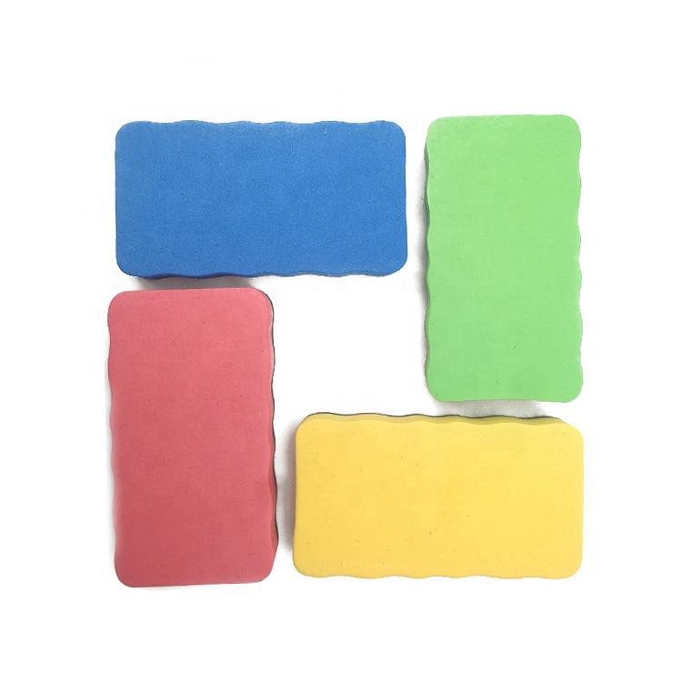 STASUN customized Logo dry erase EVA magnetic felt white board eraser - Yola WhiteBoard | szyola.net