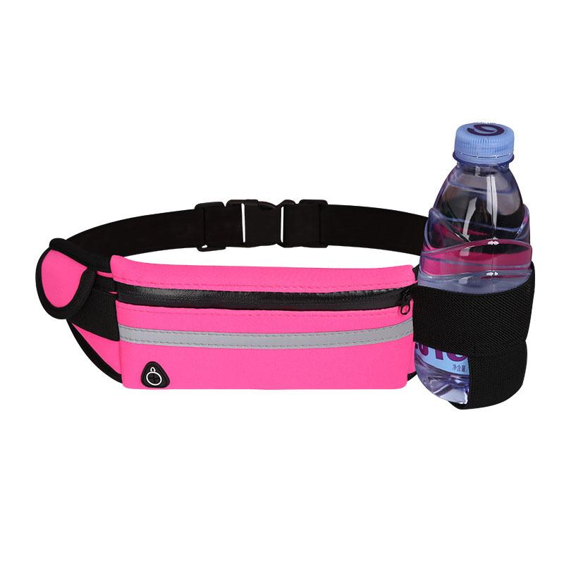 Оптовая продажа заказной неопрен унисекс Спорт Фитнес-дорожка наушники бутылка для воды поясная сумка