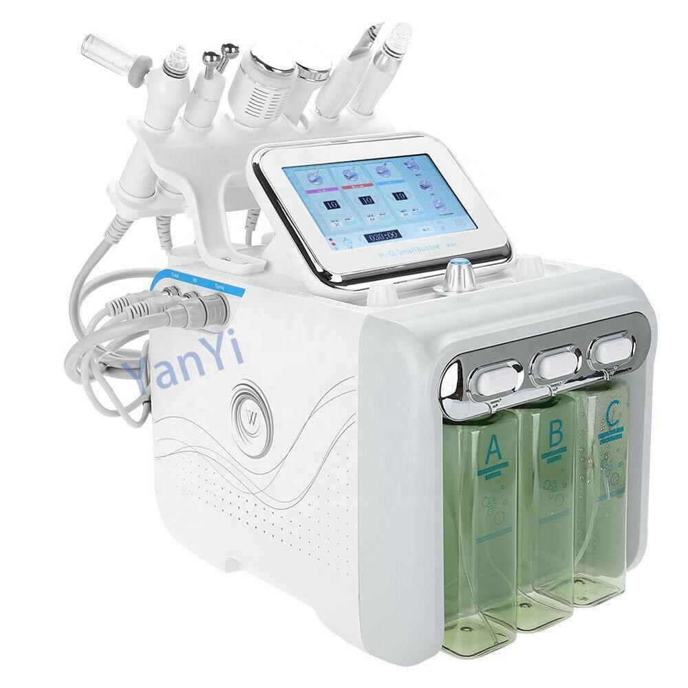 Фракционный Малый косметический инструмент YanYi 6 в 1, радиочастотный микроиглы для тела, оборудование для красоты, машина для ухода за кожей