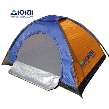 AIOIAI 4 Person Large Tent Custom Beach Camping Tent Family For Outdoor