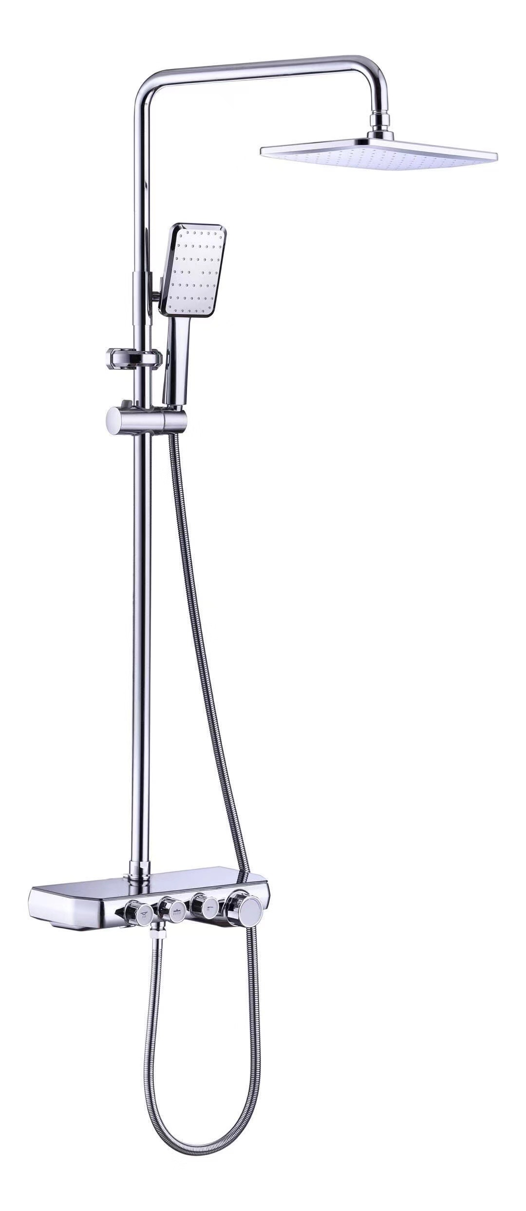 G674 черный душ для ванной комнаты античный смеситель для душа набор для душа с дождевой насадкой смеситель