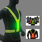 Vest Factory Vest Reflective Mesh Safety Running Vest
