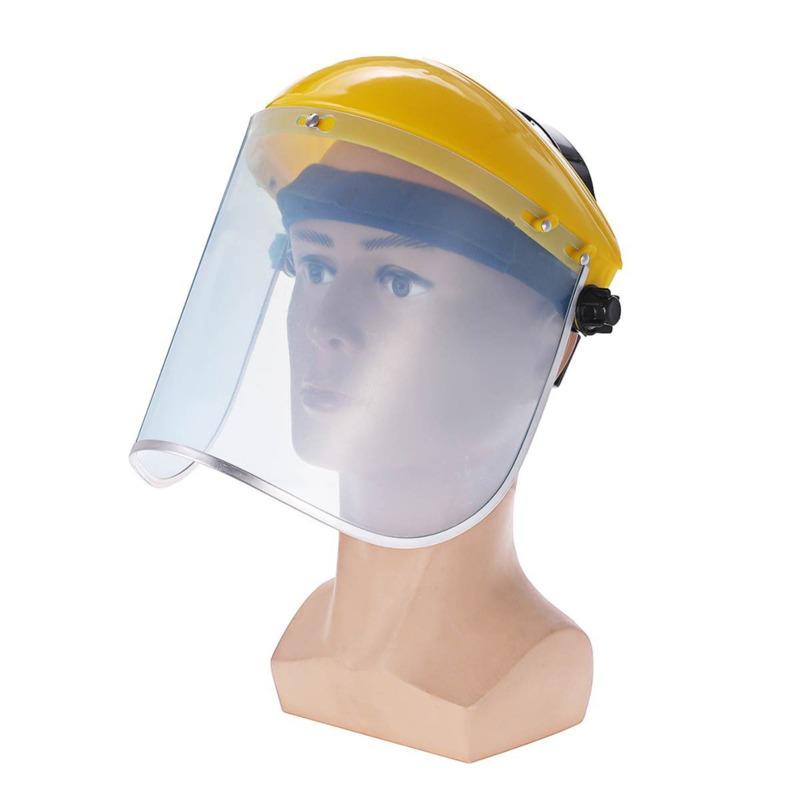 Anti-UV Saliva Welding Helmet Safety Shield Visor Outdoor Workplace Safety Protection Supplies