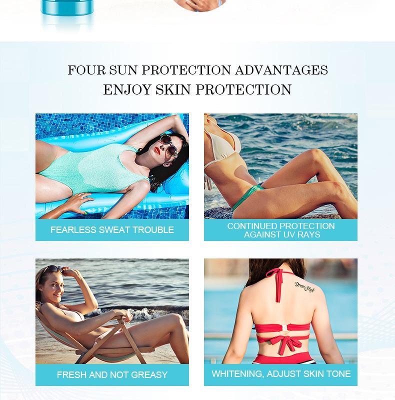 Оптовая продажа OEM/ODM Amazon горячая Распродажа SPF 90 + солнцезащитный крем чистая Защита от солнца Органическая фирменная марка уход за кожей Отбеливающий солнцезащитный крем
