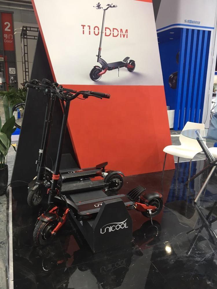 Новый дизайн 2020, Электрический скутер Unicool для взрослых с двойной подвеской, складной мощный электрический скутер 60 в 2000 Вт