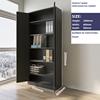 Open door cabinet