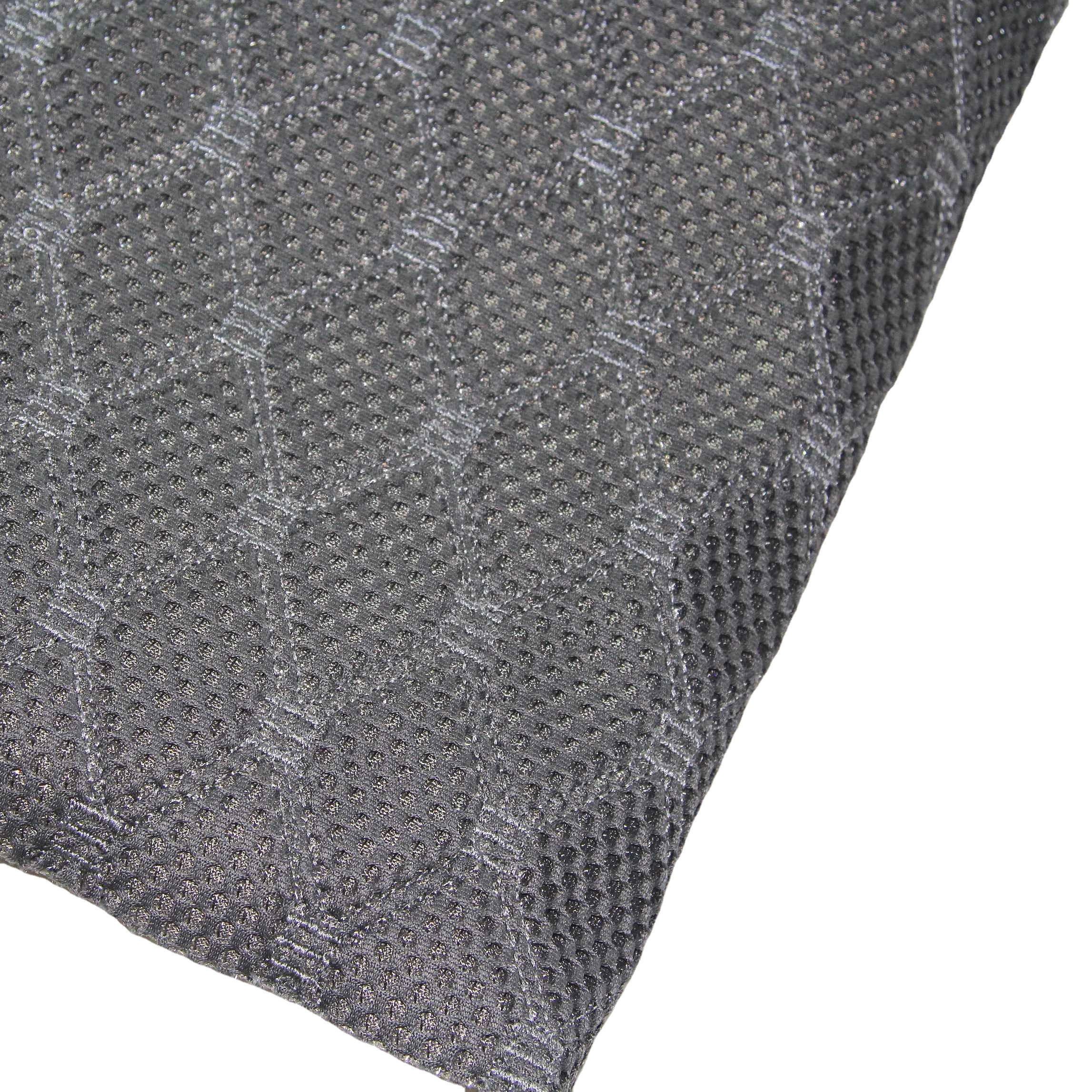 High Quality and Hot Sale Embroidery Design Mesh Fabric with Foam for Car Seat/ Bus Seat /Chair/ Auto Fabric